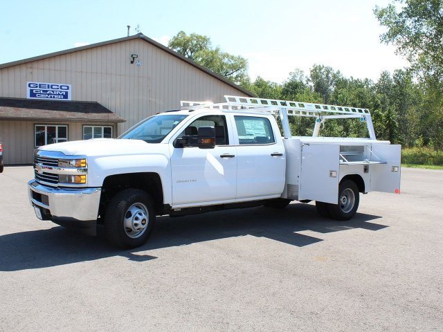 2018 Silverado 3500 Crew Cab DRW 4x4,  Reading Service Body #18C173T - photo 14