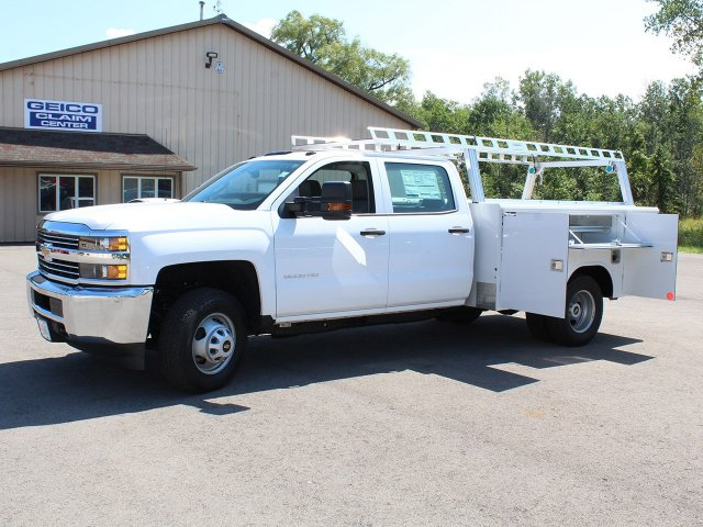 2018 Silverado 3500 Crew Cab DRW 4x4,  Reading Service Body #18C173T - photo 15