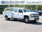 2018 Silverado 3500 Crew Cab DRW 4x4,  Reading Service Body #18C173T - photo 1