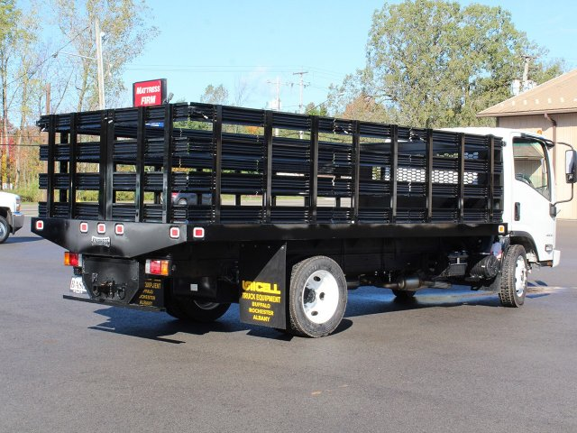 2018 LCF 4500 Regular Cab 4x2,  Knapheide Stake Bed #18C176T - photo 2