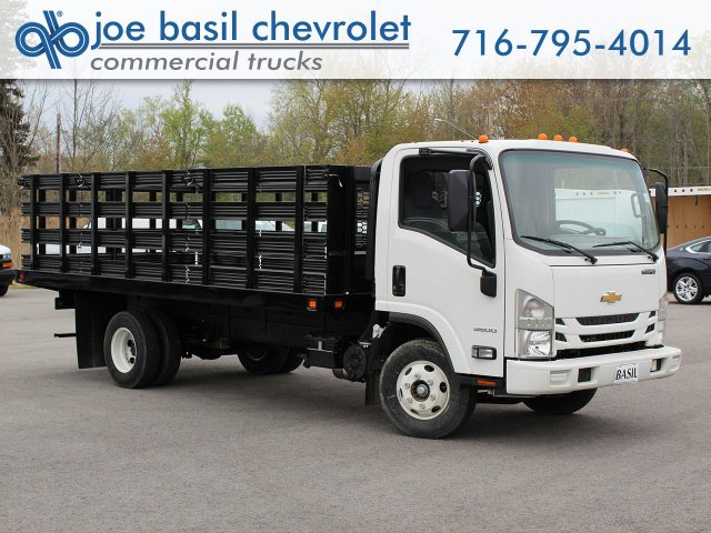 2018 LCF 3500 Regular Cab 4x2,  Knapheide Value-Master X Stake Bed #18C177T - photo 1