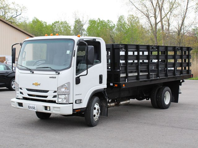 2018 LCF 3500 Regular Cab 4x2,  Knapheide Value-Master X Stake Bed #18C177T - photo 10