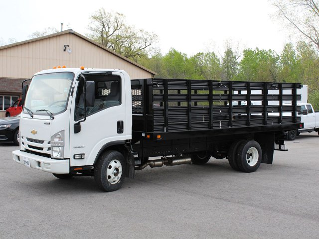 2018 LCF 3500 Regular Cab 4x2,  Knapheide Stake Bed #18C177T - photo 3