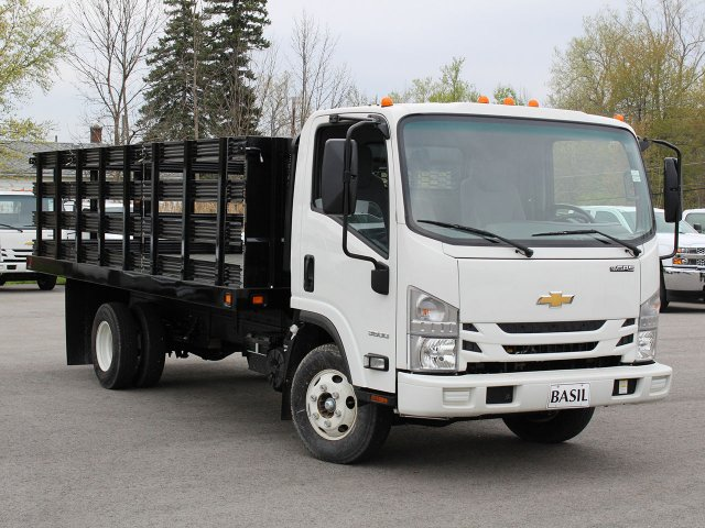 2018 LCF 3500 Regular Cab 4x2,  Knapheide Value-Master X Stake Bed #18C177T - photo 9