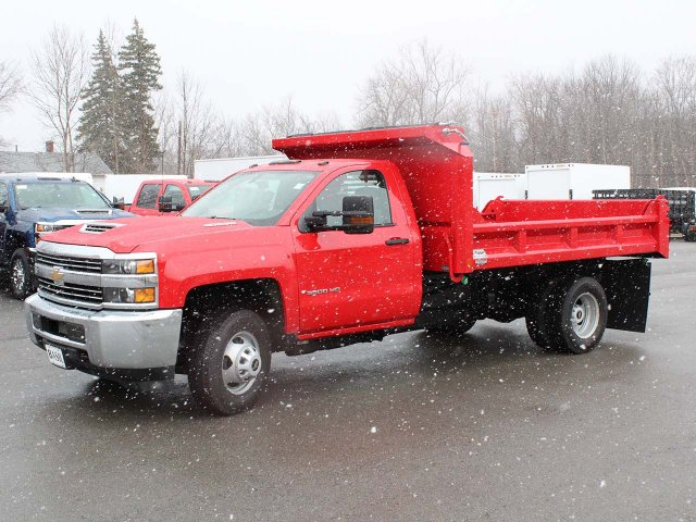 2018 Silverado 3500 Regular Cab DRW 4x4,  Cab Chassis #18C215T - photo 2