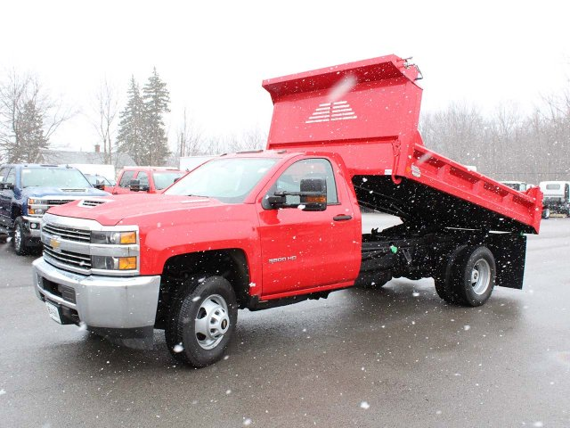 2018 Silverado 3500 Regular Cab DRW 4x4,  Cab Chassis #18C215T - photo 21