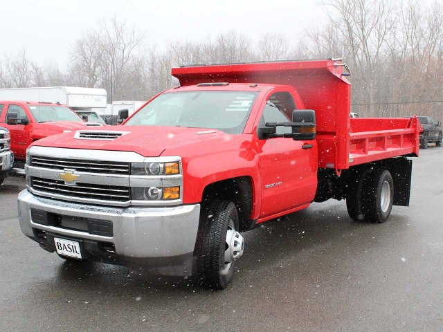 2018 Silverado 3500 Regular Cab DRW 4x4,  Cab Chassis #18C215T - photo 3