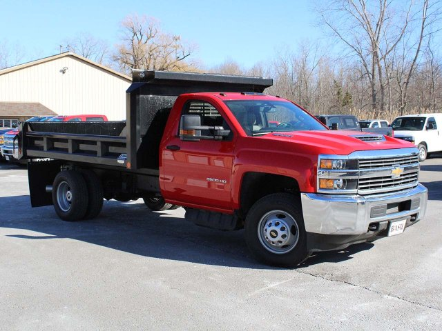 2018 Silverado 3500 Regular Cab DRW 4x4,  Crysteel E-Tipper Dump Body #18C216T - photo 27