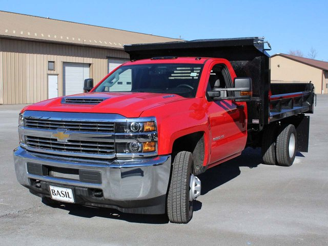 2018 Silverado 3500 Regular Cab DRW 4x4,  Crysteel E-Tipper Dump Body #18C216T - photo 5
