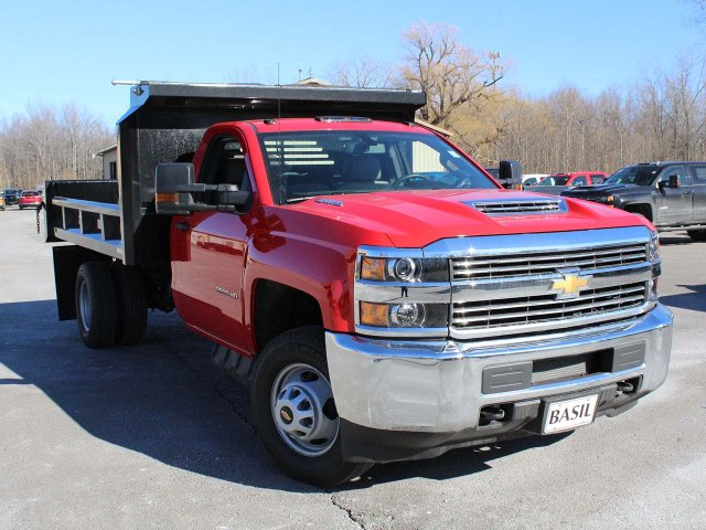 2018 Silverado 3500 Regular Cab DRW 4x4,  Crysteel E-Tipper Dump Body #18C216T - photo 7