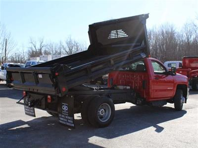 2018 Silverado 3500 Regular Cab DRW 4x4,  Crysteel E-Tipper Dump Body #18C216T - photo 15