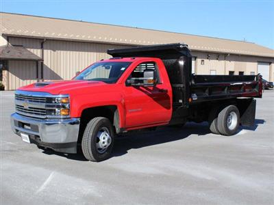 2018 Silverado 3500 Regular Cab DRW 4x4,  Crysteel E-Tipper Dump Body #18C216T - photo 3