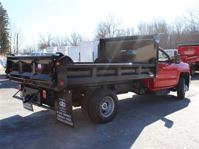 2018 Silverado 3500 Regular Cab DRW 4x4,  Crysteel E-Tipper Dump Body #18C216T - photo 2