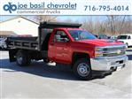 2018 Silverado 3500 Regular Cab DRW 4x4,  Crysteel Dump Body #18C216T - photo 1