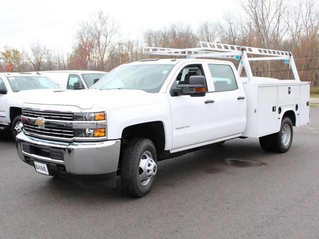 2018 Silverado 3500 Crew Cab 4x4 Service Body #18C29T - photo 3