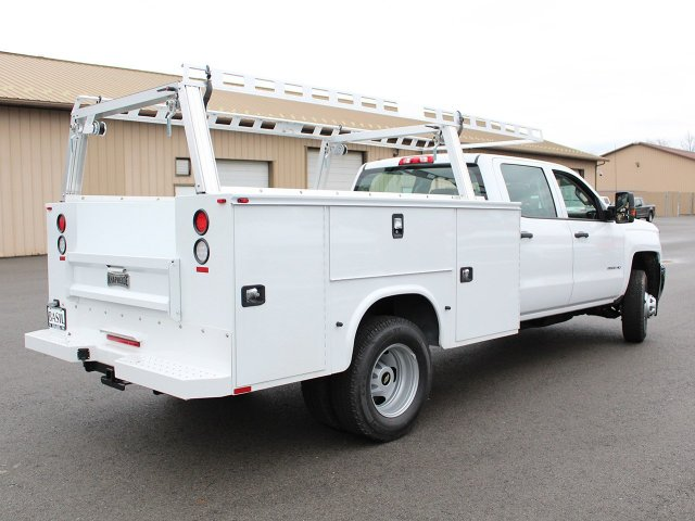 2018 Silverado 3500 Crew Cab 4x4 Service Body #18C29T - photo 2