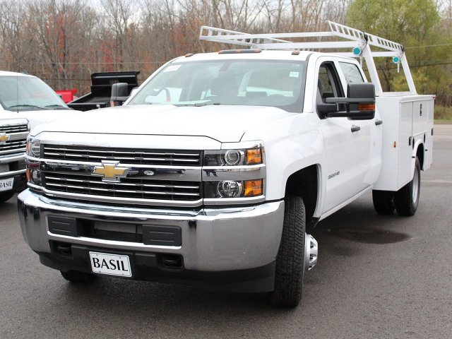 2018 Silverado 3500 Crew Cab 4x4 Service Body #18C29T - photo 7