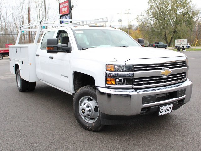 2018 Silverado 3500 Crew Cab 4x4 Service Body #18C29T - photo 8