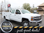 2018 Silverado 3500 Crew Cab 4x4 Service Body #18C29T - photo 1