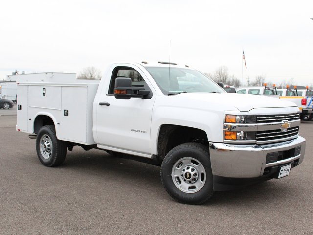 2018 Silverado 2500 Regular Cab 4x4 Service Body #18C45T - photo 3