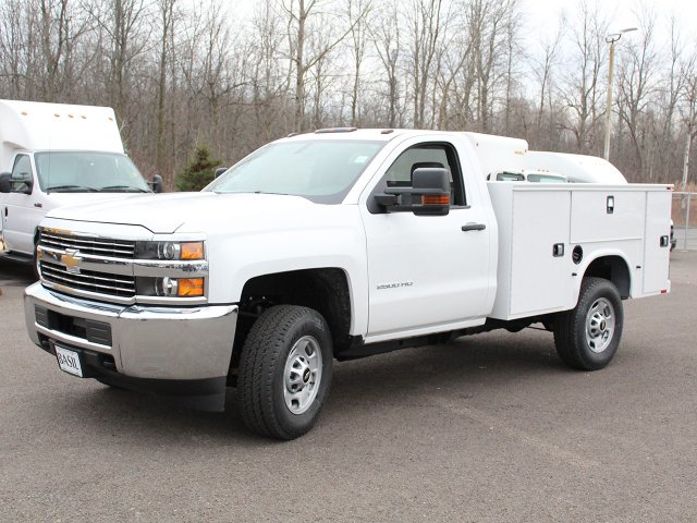 2018 Silverado 2500 Regular Cab 4x4 Service Body #18C45T - photo 4