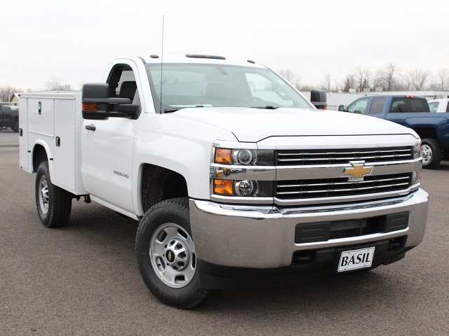 2018 Silverado 2500 Regular Cab 4x4 Service Body #18C45T - photo 9