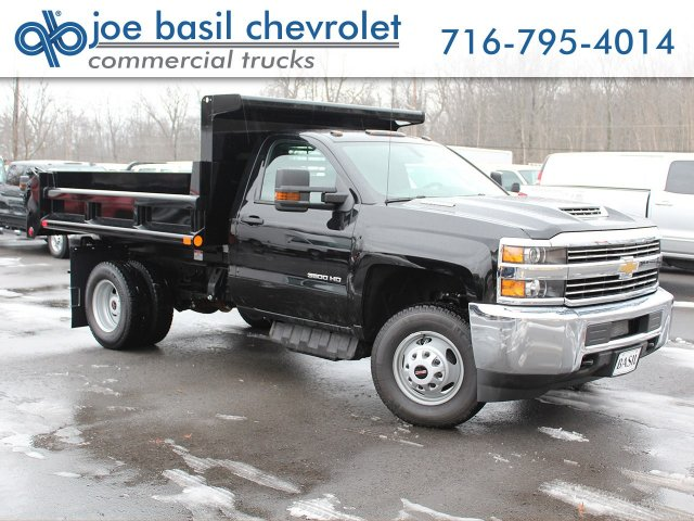 2018 Silverado 3500 Regular Cab DRW 4x4, Air-Flo Pro-Class Dump Body #18C51T - photo 1