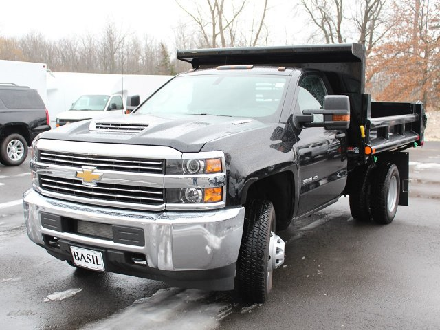 2018 Silverado 3500 Regular Cab DRW 4x4, Air-Flo Dump Body #18C51T - photo 13