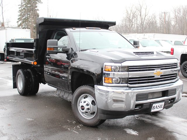 2018 Silverado 3500 Regular Cab DRW 4x4, Air-Flo Dump Body #18C51T - photo 14