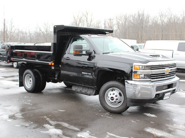 2018 Silverado 3500 Regular Cab DRW 4x4, Air-Flo Dump Body #18C51T - photo 3
