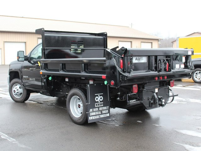 2018 Silverado 3500 Regular Cab DRW 4x4, Air-Flo Dump Body #18C51T - photo 8