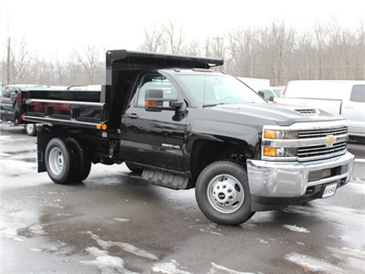 2018 Silverado 3500 Regular Cab DRW 4x4, Air-Flo Pro-Class Dump Body #18C51T - photo 3