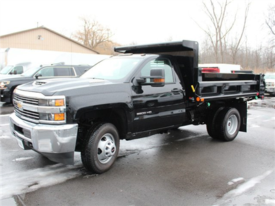 2018 Silverado 3500 Regular Cab DRW 4x4, Air-Flo Pro-Class Dump Body #18C51T - photo 4