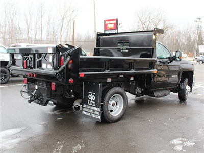 2018 Silverado 3500 Regular Cab DRW 4x4, Air-Flo Pro-Class Dump Body #18C51T - photo 2