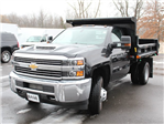 2018 Silverado 3500 Regular Cab DRW 4x4, Air-Flo Pro-Class Dump Body #18C51T - photo 13