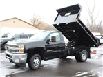 2018 Silverado 3500 Regular Cab DRW 4x4, Air-Flo Pro-Class Dump Body #18C51T - photo 10