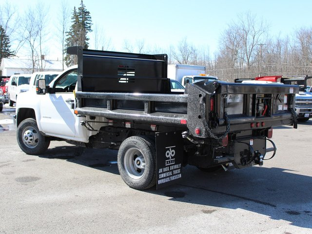 2018 Silverado 3500 Regular Cab DRW 4x4, Dump Body #18C81T - photo 5