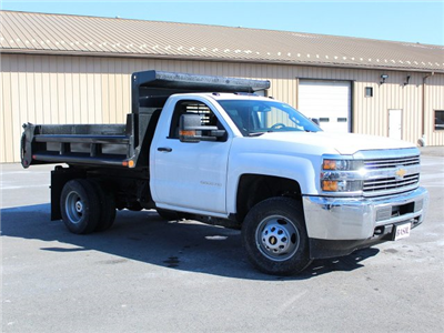 2018 Silverado 3500 Regular Cab DRW 4x4, Dump Body #18C81T - photo 26