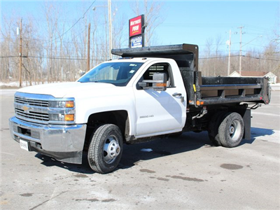 2018 Silverado 3500 Regular Cab DRW 4x4, Dump Body #18C81T - photo 6
