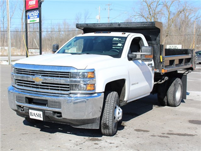 2018 Silverado 3500 Regular Cab DRW 4x4, Dump Body #18C81T - photo 7