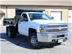 2018 Silverado 3500 Regular Cab DRW 4x4, Dump Body #18C81T - photo 10