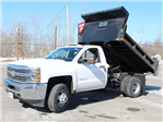 2018 Silverado 3500 Regular Cab DRW 4x4, Dump Body #18C81T - photo 3