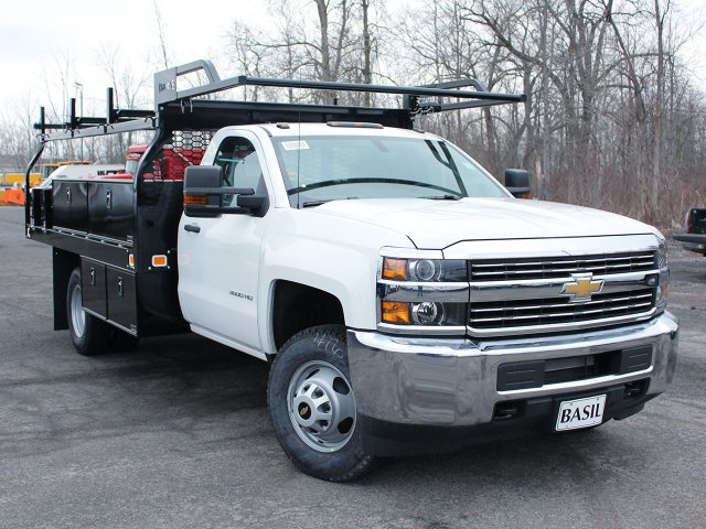 2018 Silverado 3500 Regular Cab DRW 4x4, Knapheide Contractor Body #18C98T - photo 18