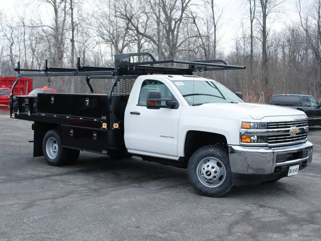 2018 Silverado 3500 Regular Cab DRW 4x4, Knapheide Contractor Body #18C98T - photo 29