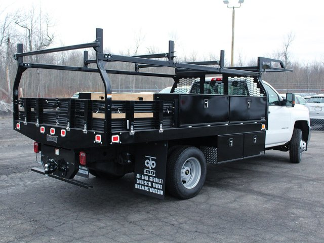 2018 Silverado 3500 Regular Cab DRW 4x4, Knapheide Contractor Body #18C98T - photo 2