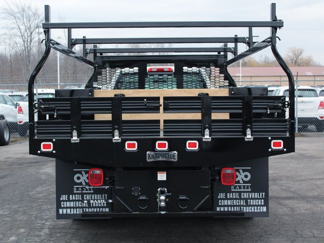 2018 Silverado 3500 Regular Cab DRW 4x4, Knapheide Contractor Body #18C98T - photo 6