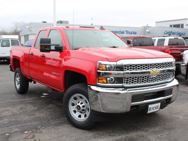 2019 Silverado 2500 Double Cab 4x4,  Pickup #19C104T - photo 10