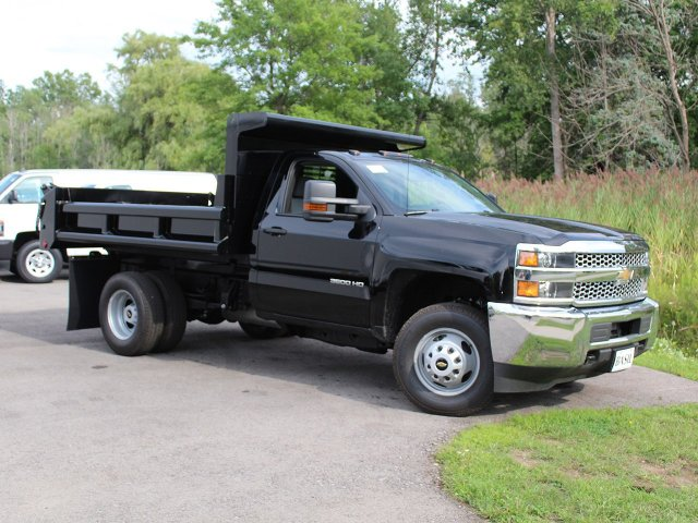 2019 Silverado 3500 Regular Cab DRW 4x4,  Air-Flo Dump Body #19C10T - photo 26