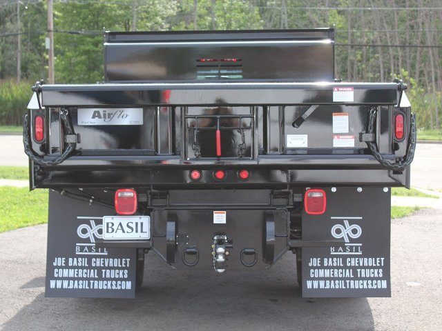 2019 Silverado 3500 Regular Cab DRW 4x4,  Air-Flo Dump Body #19C10T - photo 6