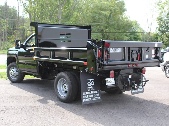 2019 Silverado 3500 Regular Cab DRW 4x4,  Air-Flo Dump Body #19C10T - photo 8